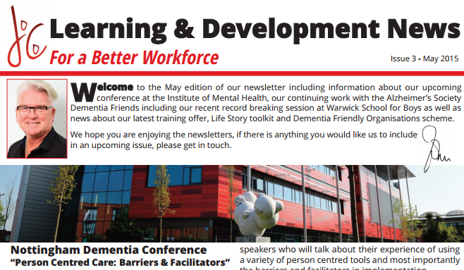 Latest Issue of 'Learning & Development News' (May 2015)